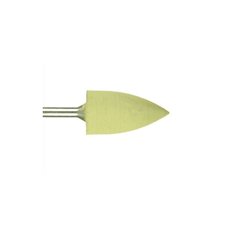 Polissoir silicone résine acrylique, tige renforcée - Obus