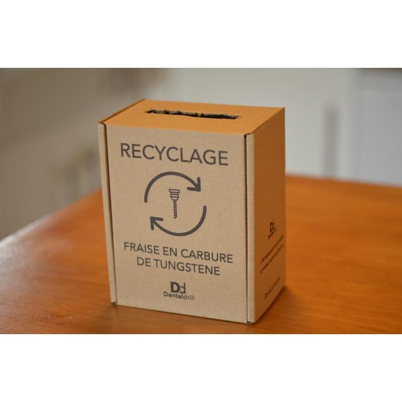Boîte de collecte - Fraise en carbure de tungstène (offert pour toute commande)