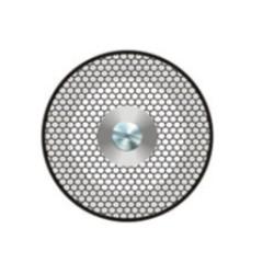 Disque diamanté - Double face, diamanté intégral, percé
